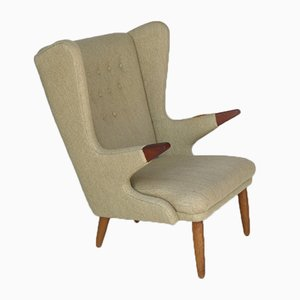 Skandinavischer Vintage Papa Bear Chair von Svend Skipper, 1950er