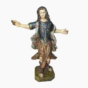 Polychrome Statue, 18. Jahrhundert