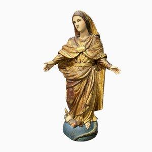 Madonna aus Holz, 18. Jh