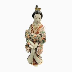 Chinese Statue in Imari Enamel