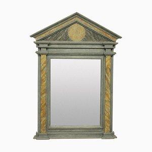 Espejo estilo romano de mármol, años 50