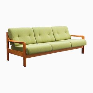 Teak Lounge Sofa im skandinavischen Stil, 1970er