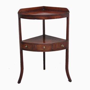 Early 19th Century Mahogany Corner Table