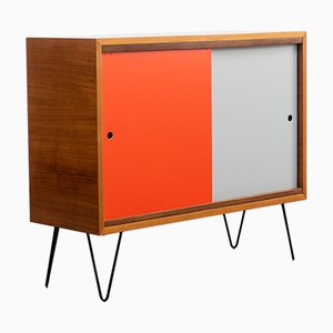 Sideboard in Walnut with New Hairpin Legs, 1960s