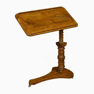 Victorian Walnut Reading Table