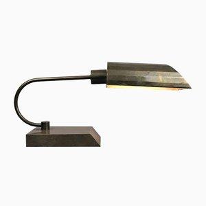 Vintage Desk Lamp in Brass
