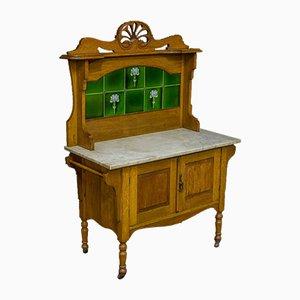 Victorian Oak Washstand