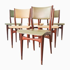 Esszimmerstühle von Altamira, 1950er, 6er Set