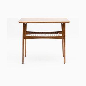 Restored Side Table in Walnut, 1960s