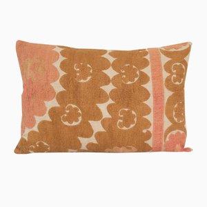 Uzbek Suzani Cushion Cover, 19th Century
