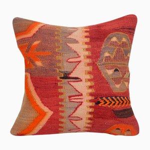 Turkish Decorative Striped Kilim Pillow Cover