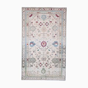 Caucasian Hand Knotted Distressed Rug