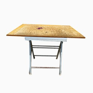 Tavolo da architetto pieghevole di SIPE, 1950