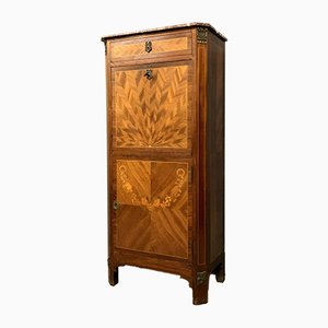 Napoleon III Lady's Secretaire in Butterfly Wing Marquetry