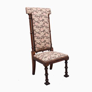 Gothic Style Rosewood Chair, Early 19th Century