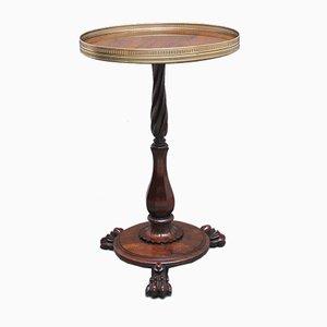 Mesa baja Regency de palisandro, principios del siglo XIX