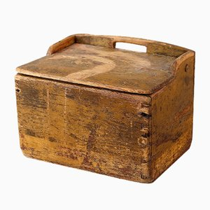 Swedish Wooden Box, 1850s