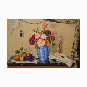 Maximilian Ciccone, Composición, óleo sobre lienzo