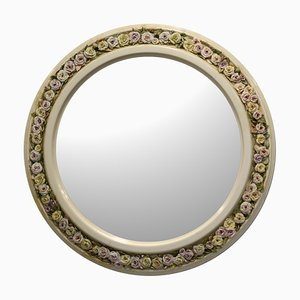 Field Roses Mirror Frame by Giulio Tucci