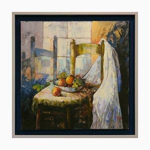 Augusto Romolo, Komposition, Öl auf Leinwand