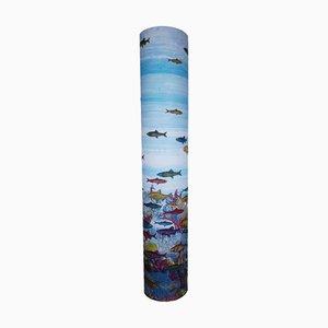 Aquarium Floor Lamp by Piero Fornasetti, 1990s