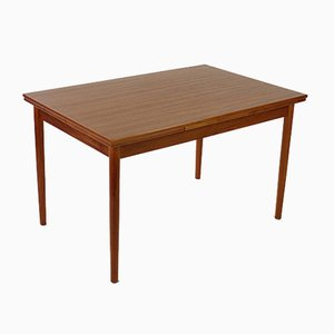 Danish Teak Extendable Dining Table from AM Møbler, 1960s