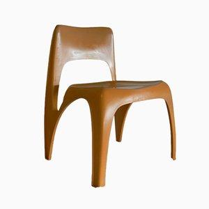 Chaise d'Appoint par Preben Fabricius pour Interplast, 1970s