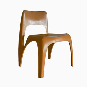 Side Chair by Preben Fabricius for Interplast, 1970s