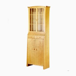 Pagoda Display Cabinet in Solid Cherry and Lebanon Cedar by James Krenov, 1971