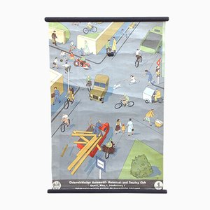 Traffic Lessons Education Poster
