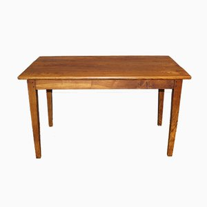 Elm Dining Table, Late 19th Century