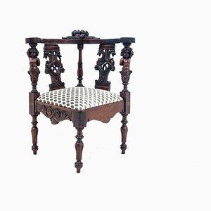 Historischer Horn Sessel, Frankreich, 1900er