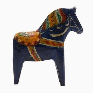 Multicolored Dalecarlian Horse