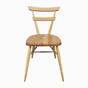Double Back Stacking Dining Chair by Lucian Ercolani for Ercol, 1960s