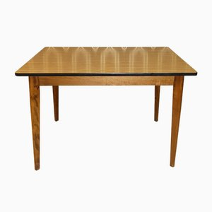 Stable Kitchen Table in Wood Effect Formica, 1960s