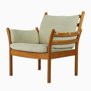 Danish Teak Genius Easy Chair by Illum Wikkelsø for Silkeborg