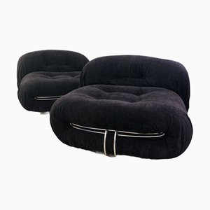 Soriana Armchair by Afra and Tobia Scarpa for Cassina