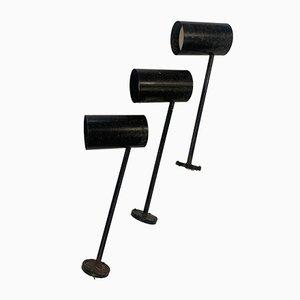 Lámparas modelo Chimney de Louis Poulsen para Magasin Denmark. Juego de 3