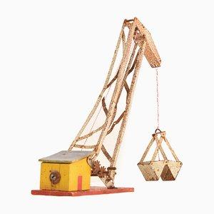 Metal Crane Toy