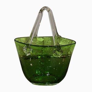 Murano Glass Vide-Poche Basket