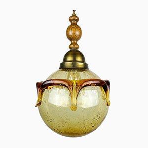 Vintage Murano Glass Pendant Lamp, Italy, 1960s