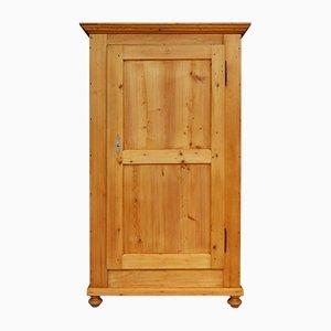 Biedermeier 1-Door Cupboard in Softwood