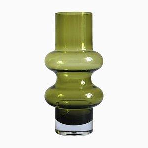 Grüne Hoop Solmuke Vase von Tamara Aladin für Riihimaën Lasi
