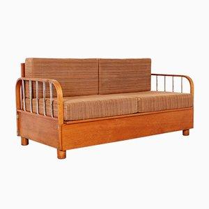 Sofá cama plegable de Jindřich Halabala para Up Závody