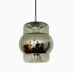 Glass Pendant Lamp from Peill & Putzler, 1960s