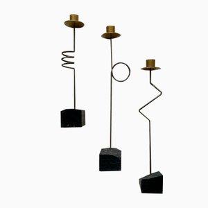 Kräsen Candleholders by Ehlen Johansson for Ikea, 1987, Set of 3
