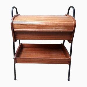 Scandinavian Sewing Basket Table