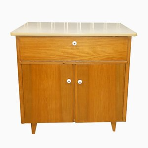 Kitchen Cupboard with Washbasin Pullout, 1940s