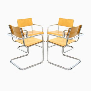 Italian Chairs from Plurima, 1980s, Set of 4