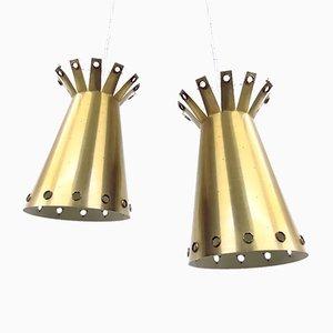 Diabolo Pendant Lamps from Stilnovo, 1950s, Set of 2